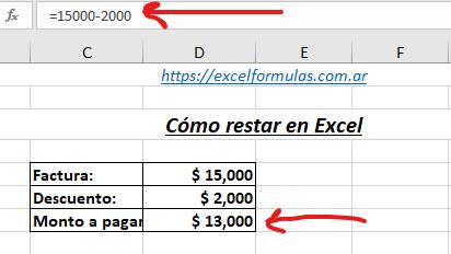 Cómo Restar En Excel Todas Las Opciones La Fórmula De Excel