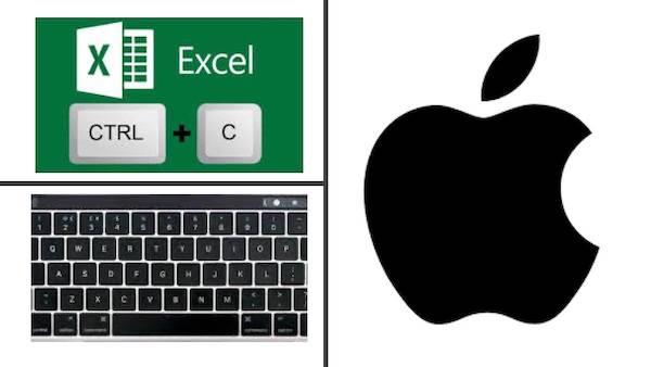 Comandos de Excel para Mac