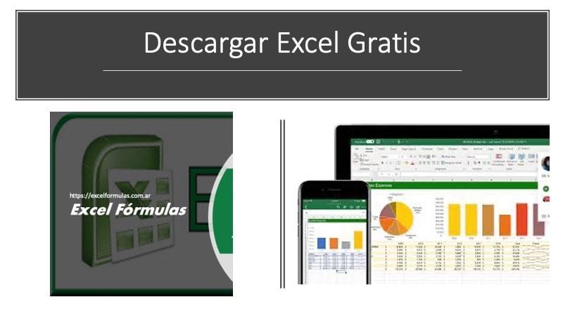 Descargar Excel gratis por 1 mes