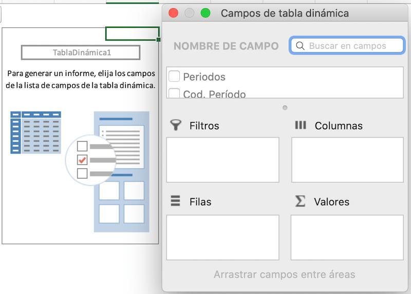 Tabla Dinamica en Excel