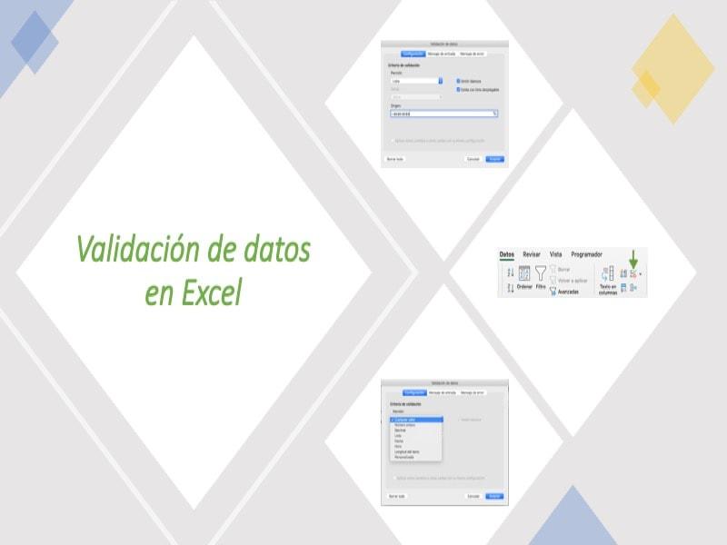 Validación de Datos en Excel