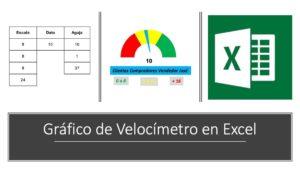 Gráfico de velocímetro en excel