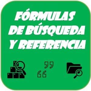 Categoría Formulas de Búsqueda y Referencia